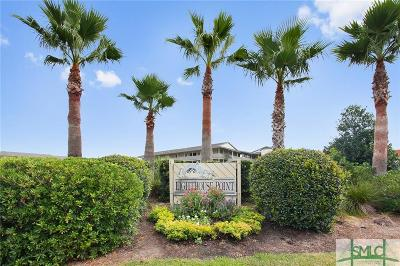 Tybee Island Condo/Townhouse For Sale: 85 Van Horne #34B