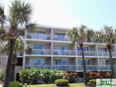 Tybee Island Condo/Townhouse For Sale: 404 Butler #111