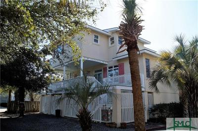 Tybee Island Single Family Home For Sale: 5 7th Lane