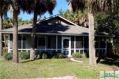 Tybee Island Single Family Home For Sale: 1305 5th Avenue