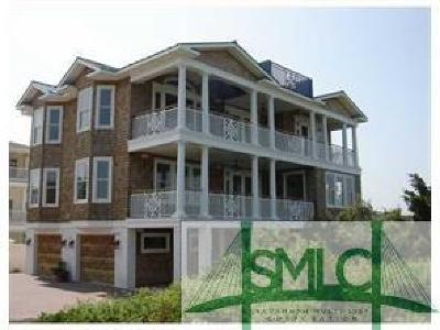Tybee Island GA Single Family Home For Sale: $1,779,000