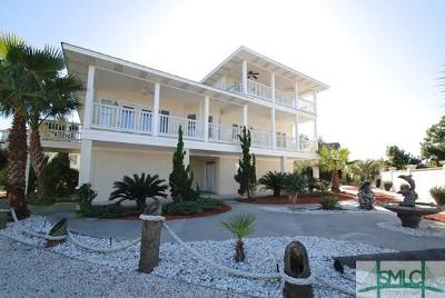 Tybee Island Single Family Home For Sale: 1213 Bay Street #B