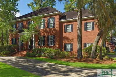 Savannah GA Single Family Home For Sale: $565,000