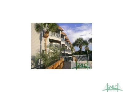 Tybee Island Condo/Townhouse For Sale: 1217 Bay Street #234A