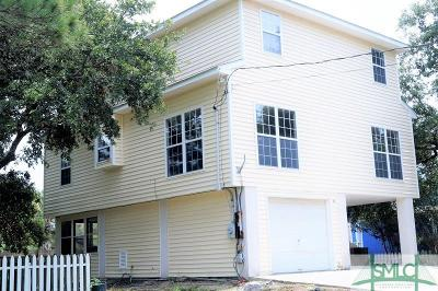 Tybee Island GA Single Family Home For Sale: $349,900