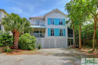 Tybee Island Single Family Home For Sale: 1704 Lovell Avenue