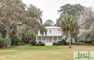 Savannah Single Family Home For Sale: 717 Dancy Avenue