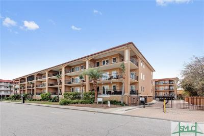 Tybee Island Condo/Townhouse For Sale: 3 15th Street #304