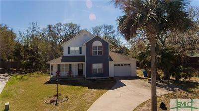 Tybee Island Single Family Home For Sale: 20 Captains View