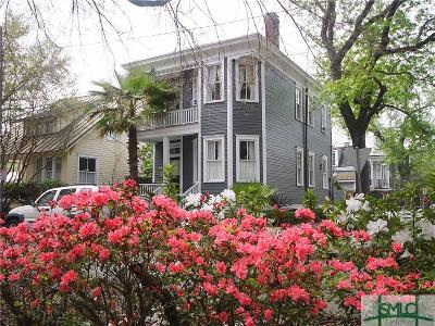 Savannah Single Family Home For Sale: 129 Houston Street