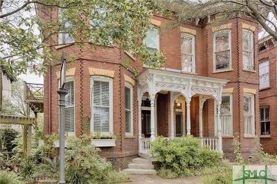 Savannah Condo/Townhouse For Sale: 615 Tattnall Street