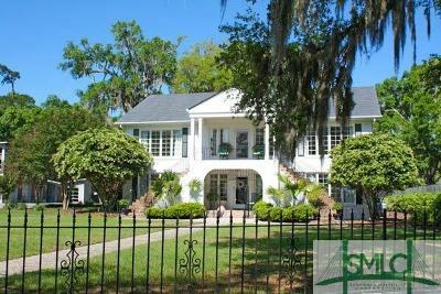 Savannah GA Single Family Home For Sale: $1,800,000