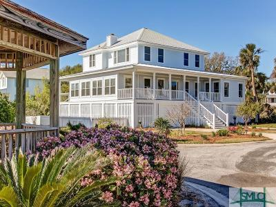 Tybee Island Single Family Home For Sale: 3 Sandlewood Court
