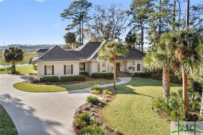 Savannah Single Family Home For Sale: 14 Captains Crossing