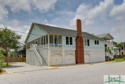 Tybee Island Single Family Home For Sale: 1 11th Street