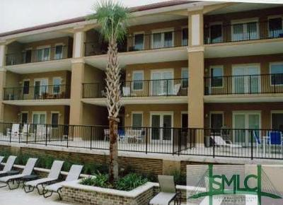 Tybee Island Condo/Townhouse For Sale: 3 15th Street #101