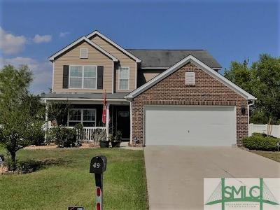 Pooler Single Family Home For Sale: 49 Glenwood Court