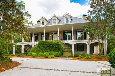 Savannah GA Single Family Home For Sale: $1,990,000