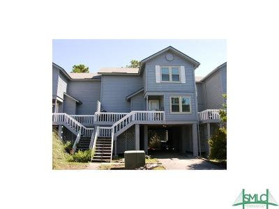 Tybee Island Condo/Townhouse For Sale: 11 Fleetwood Court