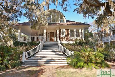 Savannah Single Family Home Active Contingent: 51 W Bluff Drive
