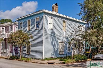Savannah Single Family Home For Sale: 1818 Whitaker Street