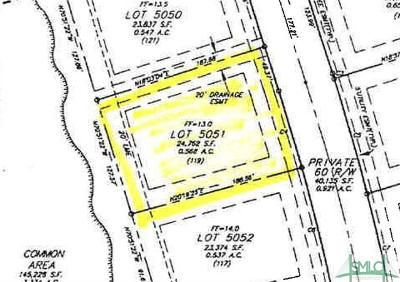 Savannah Residential Lots & Land For Sale: 119 Waterway Drive