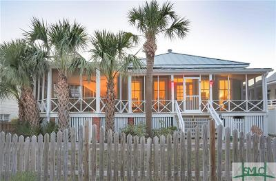Tybee Island Single Family Home For Sale: 8 13th Terrace