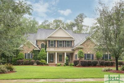 Savannah Single Family Home For Sale: 9 Woodland Creek Road