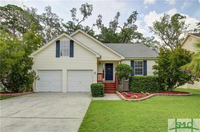 Savannah Single Family Home For Sale: 5 Marsh Hen Court