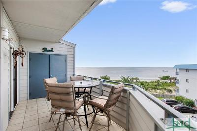 Tybee Island Condo/Townhouse For Sale: 1217 Bay Street #301C