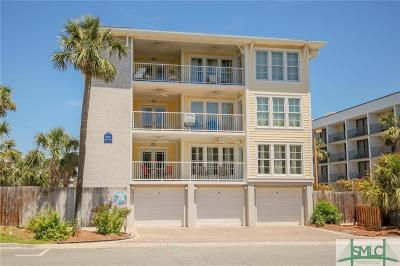Tybee Island Condo/Townhouse For Sale: 6 15th Street #A