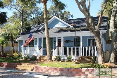 Tybee Island Single Family Home For Sale: 707 2nd