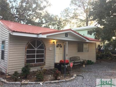Tybee Island Multi Family Home For Sale: 110 S Campbell Avenue