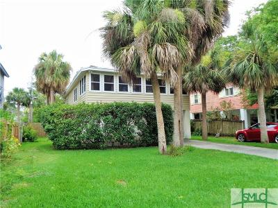 Tybee Island GA Single Family Home For Sale: $369,900