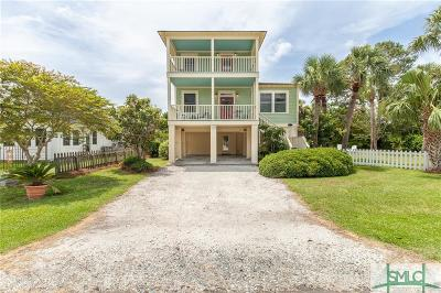 Tybee Island Single Family Home For Sale: 1415 Miller Avenue