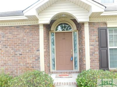 Pooler Condo/Townhouse For Sale: 315 Morgan Pines Drive
