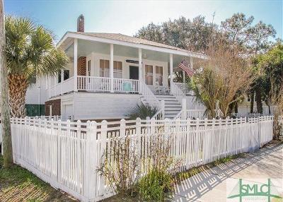 Tybee Island Single Family Home For Sale: 1706 Butler Avenue