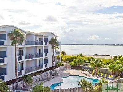 Tybee Island Condo/Townhouse For Sale: 1217 Bay Street #106C