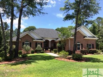 Rincon Single Family Home For Sale: 319 & 321 Polly Branch Drive