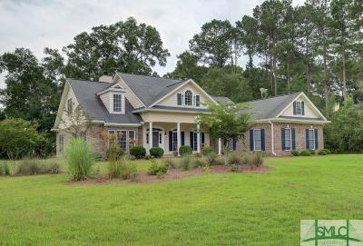Pooler Single Family Home For Sale: 112 Grand View Drive