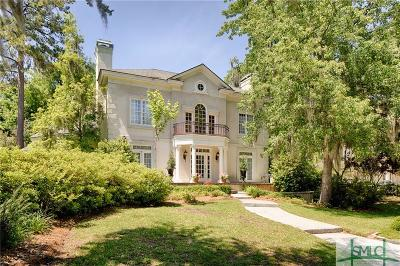 Savannah Single Family Home For Sale: 14 Bartow Point Drive