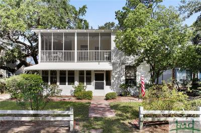 Tybee Island Single Family Home For Sale: 709 2nd Avenue