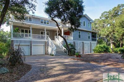 Tybee Island Single Family Home For Sale: 123 Catalina Drive
