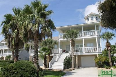 Tybee Island Single Family Home For Sale: 113 General George C Marshall Boulevard