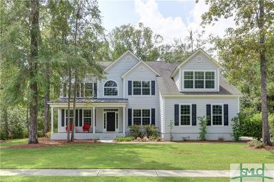 Savannah Single Family Home For Sale: 111 W Oakcrest Drive W