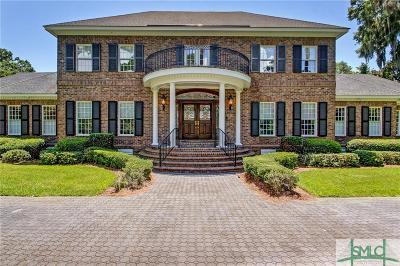 Savannah GA Single Family Home For Sale: $2,350,000