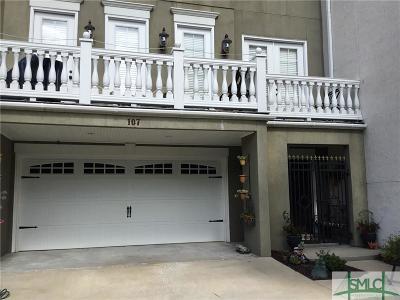 Savannah Condo/Townhouse For Sale: 107 Gabrielle Lane