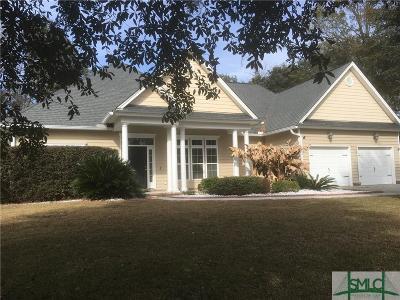 Savannah Single Family Home For Sale: 110 Mosswood Drive