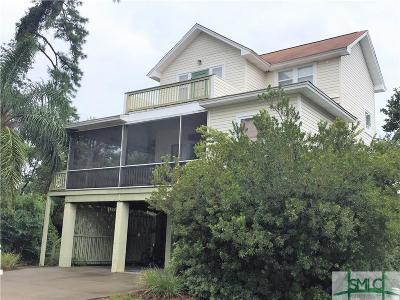 Tybee Island GA Single Family Home For Sale: $547,900