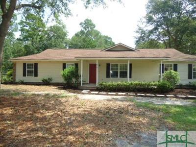 Rincon Single Family Home For Sale: 615 Plantation Drive